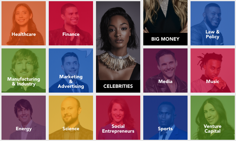 Forbes 30 under 30, 2018